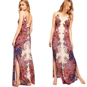 Free People Wildflower Print Lightweight Maxi